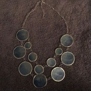 Hand Made Blue Necklace